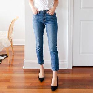 Everlane High Rise Cheeky Jeans 29